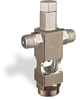 "(Formerly B1629-4X01), Cross Small Sight Feed Valve, 1/8"" Male NPT Inlet, 1/8"" Female NPT Outlet, Tamperproof -- B1628-221B1TW -- View Larger Image"