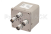 Transfer Electromechanical Relay Failsafe Switch, DC to 12.4 GHz, 50W, 12V, TNC -- PE71S6202