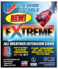 U.S. Wire Extreme Cold Weather 100-Foot Extension Cord -- Model 99100