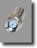 SMA Crimp Male Connector For RG58AU Coax -- RFC-10A - Image