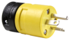 Rubber Housing Plug, Yellow -- 1448 -- View Larger Image