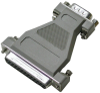 DB25F to DB9M Adapter -- CA140