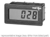 Electronic Rate Meter, 5 15.2 mm H - LCD Red Backlight Tachometer Internal Lithium Battery -- 78073698741-1