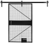 Sliding Door,W 4 Ft x H 7 Ft -- 19H250