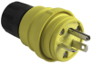 Watertight Rubber Housing Plug, Yellow -- 14W33 -- View Larger Image