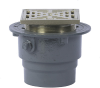Floor Drain with Square Heavy Duty Strainer -- FD-200-L -- View Larger Image