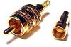 Premium 75 Ohm RCA Plug Mini Coax 26 AWG -- RCA75RGB