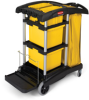 Rubbermaid® Microfiber Janitor Cart -- 7748