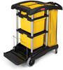 Rubbermaid® Microfiber Janitor Cart -- 7748