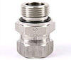 TRIPLE-LOK SWIVEL NUT STRAIGHT THREAD STAINLESS STEEL
