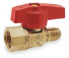 Ball Valve,3/4x5/16In FNPTx Flared,Brass -- 1WME6