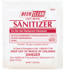 BEER CLEAN POWDER LAST-RINSE SANI PCH 100/.5 OZ -- DRK 90223