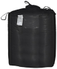Black Uncoated Flexible Intermediate Bulk Container - 6-0 oz Black IBC