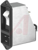 PEM Circuit Breaker; 125/250 VAC; 20 A;2; Thermoplastic; Quick-Connect; Panel -- 70080078