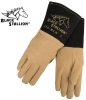 Premium Deerskin TIG Welding Gloves w/ DragPatch -- REV-25D-BLK-MASTER