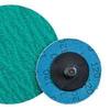 Dynabrade Coated Alumina Zirconia Quick Change Disc - 120 Grit - 2 in Diameter - 78102 -- 616026-78102 - Image