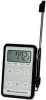 Waterproof Key Pad Thermometer w/Alarm -- 3KTX4