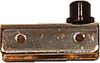Glass Door Hinge, Non-Bore Inset, 13.5mm -- 814260