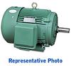 AC MOTOR 60HP 1800RPM 364T 208-230/ 460VAC 3-PH CAST-IRON -- MTCP-060-3BD18