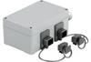 Passive Industrial Ethernet IP65 Junction Boxes / Connectors V4 - Metal Double Junction Box -- IE-OM-V04P-K21-2L -- View Larger Image