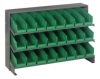 Bins & Systems - 4'' Shelf Bins (QSB Series) - Sloped Shelving Units - Bench Racks - QPRHA-101 - Image