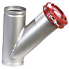 Stainless Steel, Flanged and Grooved, Wye-Pattern Strainer -- 77F-SS, 77G-SS