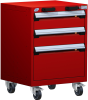 Heavy-Duty Mobile Cabinet, with Partitions -- R5BCG-2805 -Image