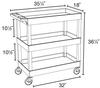 High CapacityTub Carts -- 13470