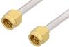 2.92mm Male to 2.92mm Male Cable 36 Inch Length Using PE-SR402AL Coax -- PE34731LF-36 -Image