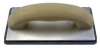 Molded Rubber Float,8 x 4 x5/8 In,Rubber -- 13P545