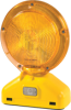 Monster™ Motion Safety Economy Barricade Lights - 3-Volt, Type A/C (two-sided visibility) -- BC3.AC.D3 - Image