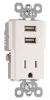 Combination Switch/Receptacle -- TR5261USB-W -- View Larger Image