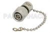 2 Watt RF Load with Chain Up to 18 GHz with TNC Male Passivated Stainless Steel -- PE6090 -- View Larger Image