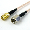 SMA Male to SMA Female Cable RG-316 Coax in 18 -- FMC0213315-18 -Image