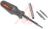 Screwdriver; Interchangeable Bit; 4; 3;Steel (Bit) -- 70223443 - Image