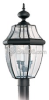 Three-Light Outdoor Post Lantern -- 8239-12