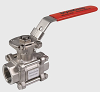Stainless Steel 3-Piece Bolted In-Line Valve -- VVS Series