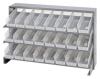 Bins & Systems - Clear-View Bins - Economy Shelf Bins - Sloped Shelving - Bench Racks - QPRHA-101CL - Image
