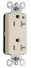 Duplex/Single Receptacle -- PTTR26362-HGW