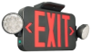 Combination Emergency Light/Exit Sign Unit -- CCRRCB - Image