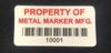 Bar Code Decals & Bar Code Labels