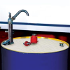 Andax Industries Drum Top Covers - Oil-Selective -- DRM01 -Image