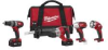 MILWAUKEE M18™ Cordless Lithium-Ion 4-Tool Combo Kit -- Model# 2696-24