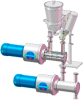 Vrieco-Nauta® Satellite Screw Mixer -- MXC
