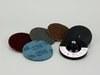 3M Scotch-Brite 914S Non-Woven Sanding Disc Set - Coarse, Medium, Very Fine, Super Fine Grade(s) Included - 4 in Diameter Included - 08707 -- 048011-08707 - Image