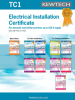 Electrical Installation Certificates -- 7530233