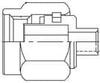 RF Connectors / Coaxial Connectors -- 132101-10 -Image