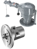 Power Line 1.6kW Motor with Worm Gears -- Size 9 - Image