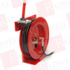 "DURO HOSE REELS 1221 ( SERIES 1200 SINGLE OPEN TYPE LARGE CAPACITY HOSE REELS (COMPLETE WITH HOSE), 1/2"" X 50 FEET 1000 PSI OIL ) -- View Larger Image"