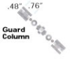Guard Column Kit -- C-135B